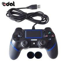 Новый проводной Игры Ручка для PS4 контроллер для Playstation 4 Игровые несколько вибрации используется для PS4 консоли