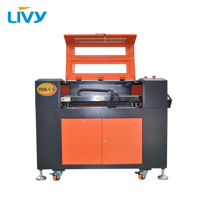 80W CNC CO2 Laser Engraving And Cutting Machine 5070 With 700*500mm Working Table For Wood, Plywood, Acrylic, Leather Caving