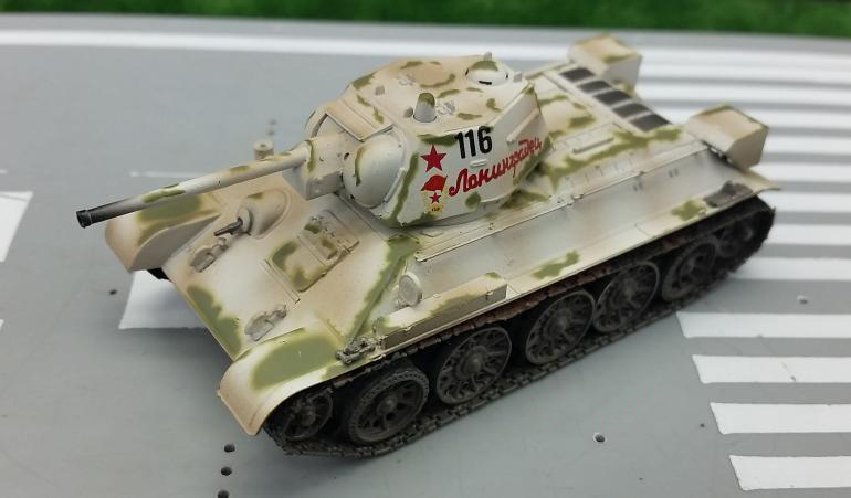 TRUMPETER 1:72 World War II Soviet T-34/76 <font><b>tank</b></font> <font><b>model</b></font> Favorite military <font><b>model</b></font> 36269 image