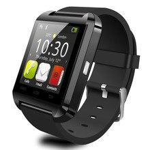 บลูทูธสมาร์ทดูU8นาฬิกาข้อมือดิจิตอลกีฬานาฬิกาสำหรับIOS a ndroid S Amsungโทรศัพท์W Earable U 8กับค้าปลีกกล่องเอชแอลฟรี