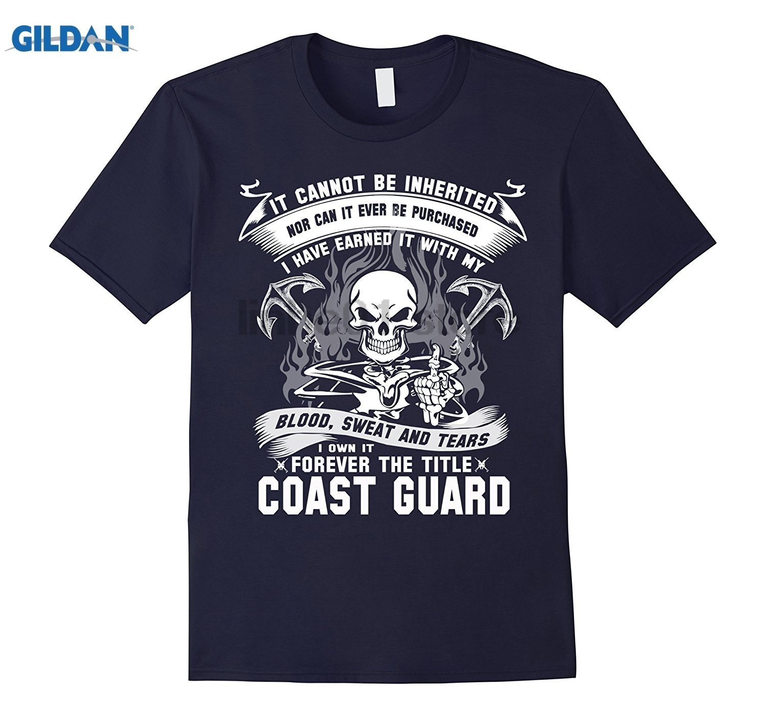 GILDAN coast guard T-shirt , it cannot be inherited nor can it ever sunglasses women T-shirt