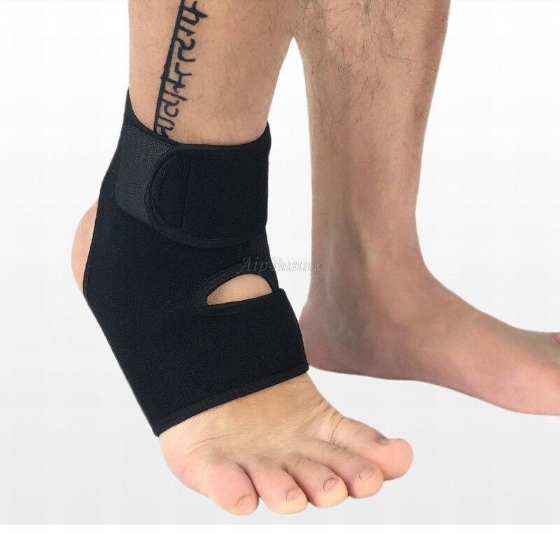 correndo proteção pé bandagem elástica tornozelo cinta