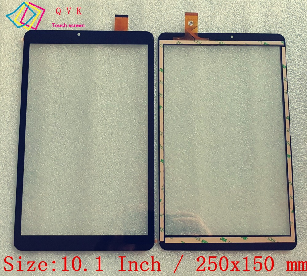 Black 10.1 Inch For Tesla Impulse 10.1 3G S41103G S4l10 3g Tablet Pc Capacitive Touch Screen Glass Digitizer Panel Free Shipping