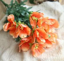Buy Artificial Orange Flowers And Get Free Shipping On Aliexpress