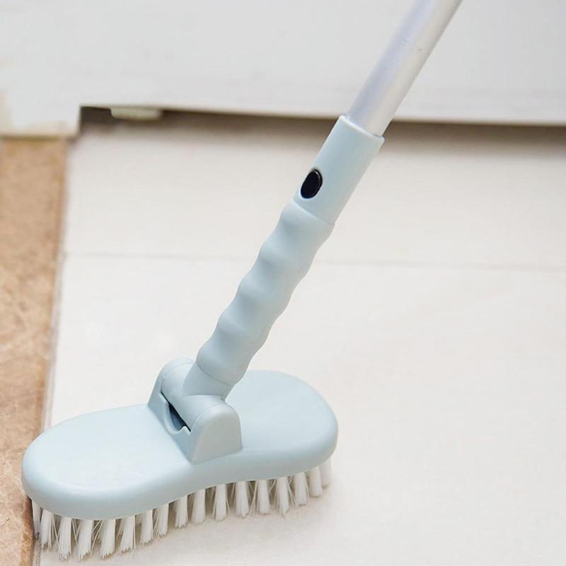 Long Handle Floor Brush Stiff Tile Bathroom Toilet Floor