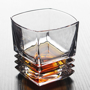 Image 2 - Brand Wine Glass Lead free Heat Resistant Transparent Crystal Beer Whiskey Brandy Vodka Cup Multi Pattern Drinkware Bar Gifts