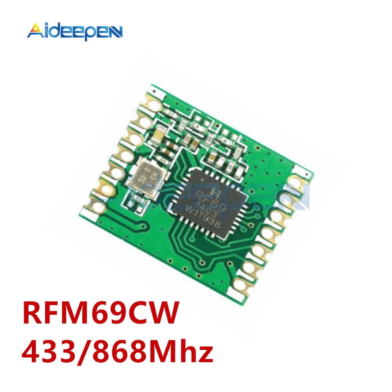 RFM69CW HopeRF 433//868Mhz Wireless Transceiver with RFM12B compatible Footprint