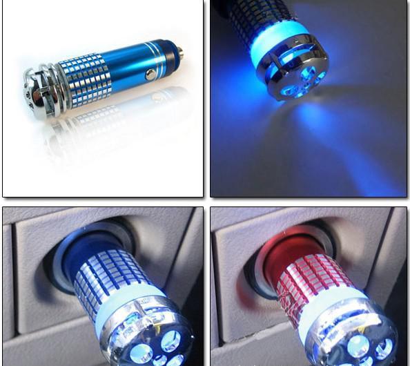 ONEZILI Car Air Purifiers Car air Humidifier Ozone Ionizer diffuser Car Fresh Air Anion Ionic