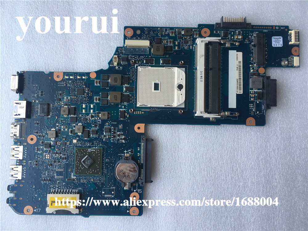 US $35 15 5% OFF|H000041530 Laptop Motherboard For Toshiba Satellite L850D  C850 C855 PLAC CSAC UMA MAIN BOARD Socket FS1 DDR3-in Motherboards from