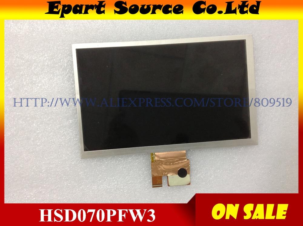 A+ Tested 7inch LCD Screen HSD070PFW3 REV:0-D00 721H460235-A1 E203460 BA070WS1-200 ME172 LCD Screen display