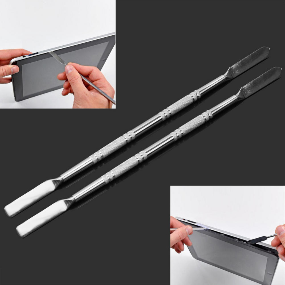 metal spudger. universal metal spudger mobile phone opening pry repair tools for iphone 6 cellphone laptop teblet-in hand tool sets from home improvement on aliexpress.com