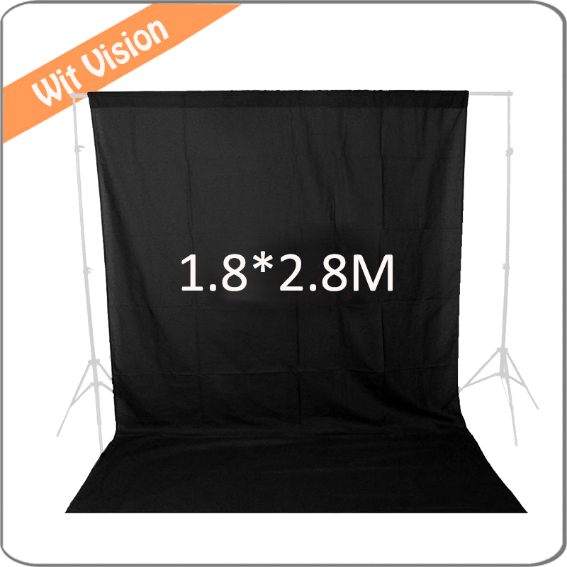 Photography Backdrops Solid Black Chromakey Cloth Backgrounds 1.8m*2.8m Porta Retrato for Photo Studio ashanks photography backdrops solid green screen 10x19ft chromakey cloth backgrounds porta retrato for photo studio