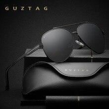 GUZTAG Brand Fashion Classic Polarized Sunglasses Men's Designer HD Goggle Eyewear Sun glasses UV400 For Men G8009