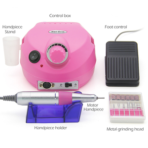Image 4 - LKE 35000RPM Pro Electric Nail Drill Machine Apparatus for Manicure Pedicure with Cutter Nail Drill Art Machine Kit Nail tools