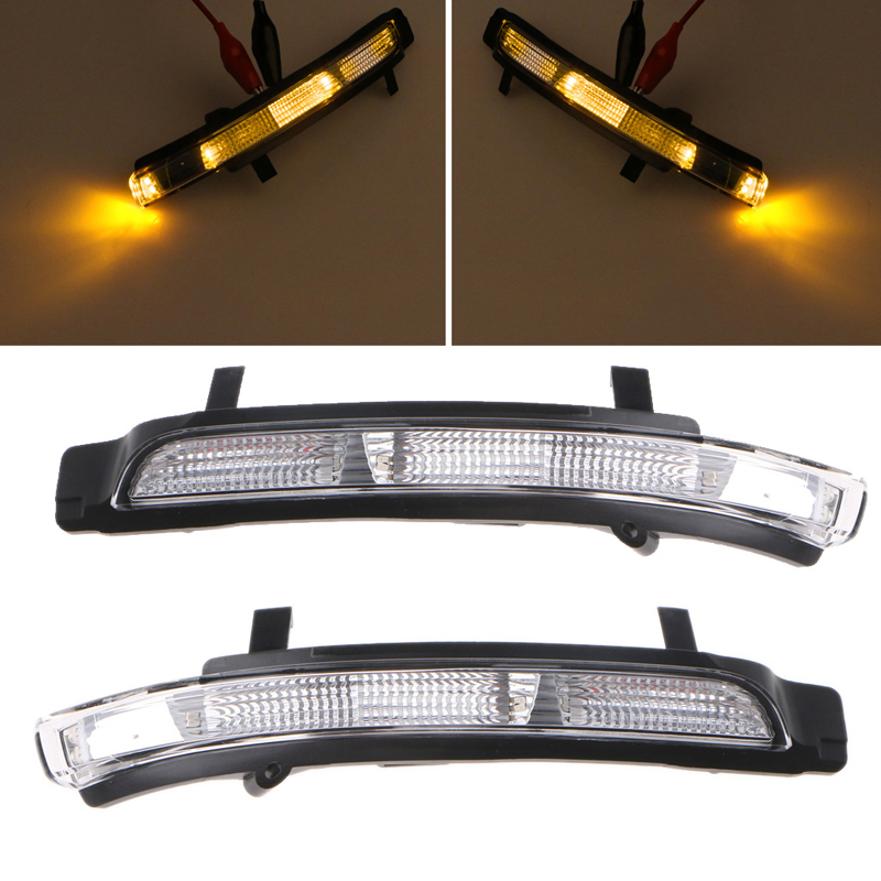 1Pc Right side  3T0 949 102 Swing Mirror Indicator Turn Signal Rearview Light For Skoda Octavia Superb