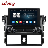 Idoing 2Din Steering Wheel For Toyota Yaris Android5 1CAR DVD Player GPS Navigation Bluetooth Radio TV