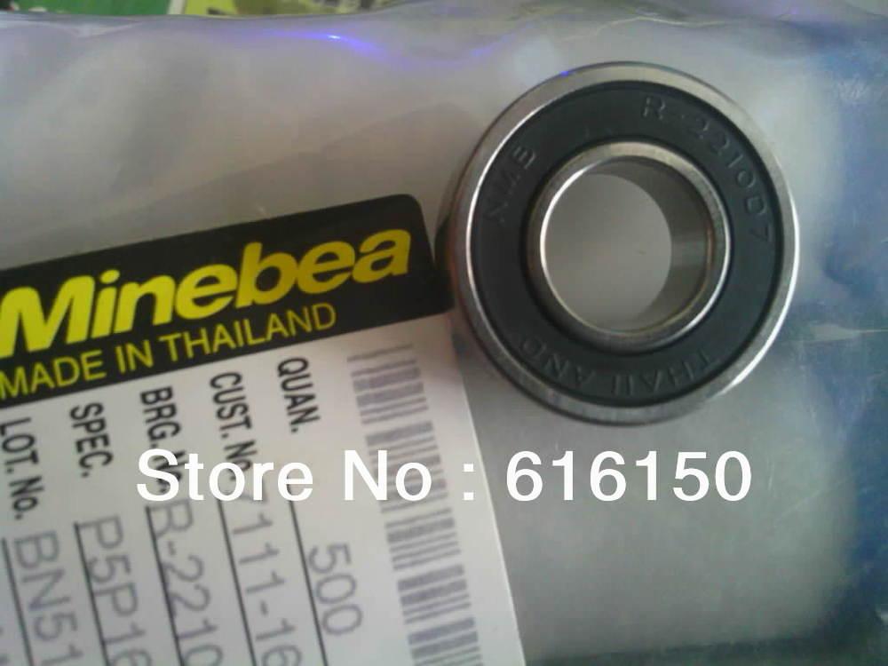 10MM BEARING Thailand nmb bearing R-2210D7 61900 61900-2RS Ball Bearings 10mm*22mm*6mm натенный аксессуар northern thailand street f0038 2 f0038 2