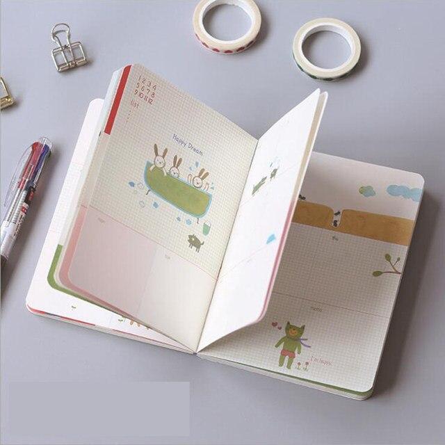 Tienda Online Plan semanal de la historieta relleno libro A6 80 ...