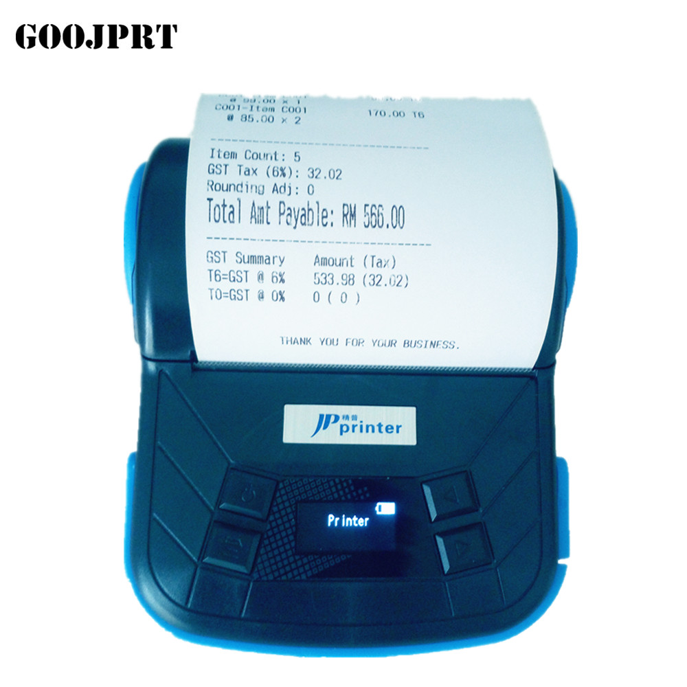Free High Quality 80MM Protable Thermal USB Mini Printer Support Windows Mobile, WINCE, Android Bluetooth Printer For Project