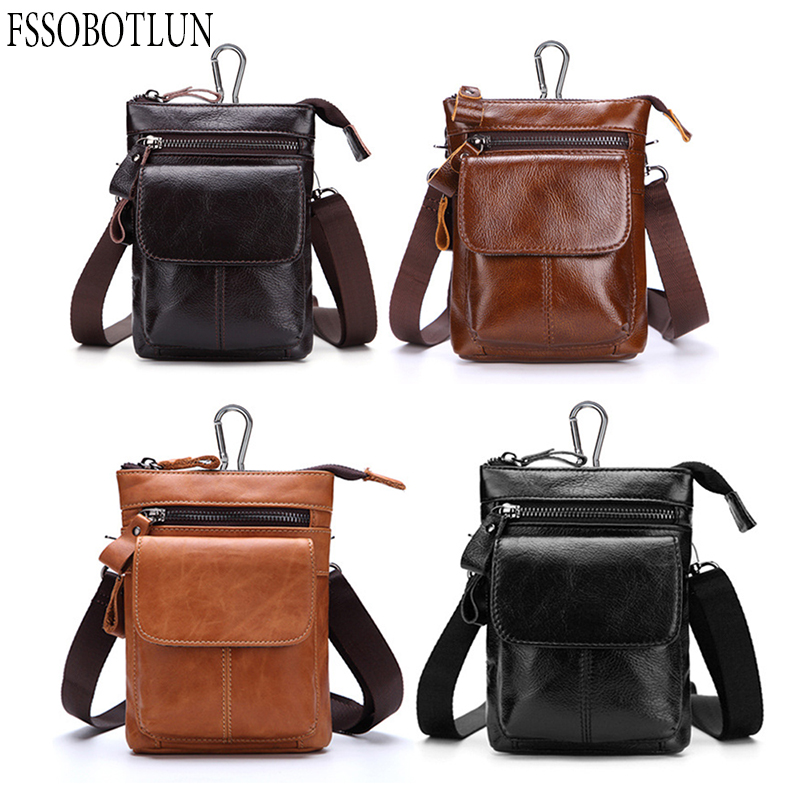 FSSOBOTLUN, Für Blackview P10000 Pro/bV7000/BV6000T Fall männer Taillengürtel Brieftasche Tasche Aus Echtem Leder Abdeckung mit Schultergurt - 6