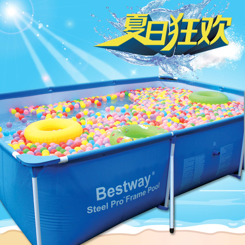 Oversized mount swimming pool large child paddling pool adult swimming pool square inflatable dual slide portable baby swimming pool pvc inflatable pool babies child eco friendly piscina transparent infant swimming pools
