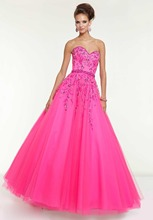 2015 Limited Sale Delicate Sweetheart Floor Length Tulle Ball Gown Prom Backless font b Evening b