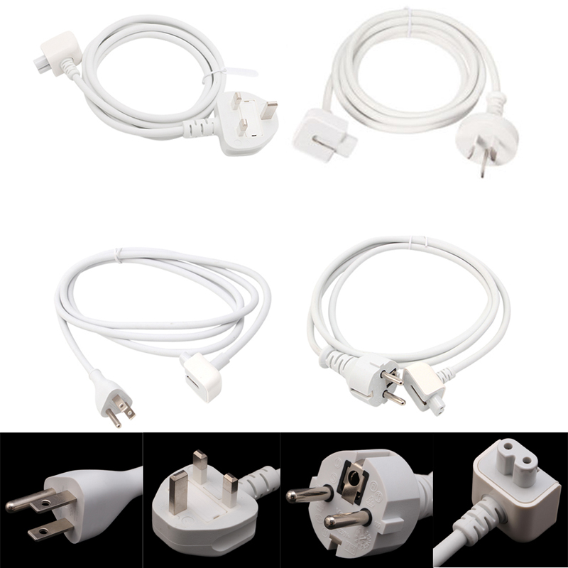 Power Extension Cable Cord For Apple MacBook Pro Air AC Wall Charger Adapter 10166