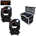 300W High Power Led Moving Head Light Compacted Small Size Hanging Clamps Rotate Gobo Wheels 7 Pattern+Open Flightcase Pack