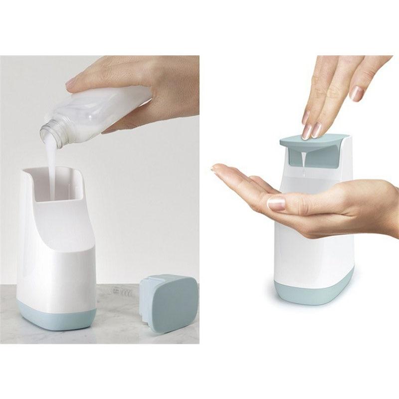 Yooap 350ml Minimalism Liquid Soap Dispenser ABS Shampoo Body Wash Lotion Kitchen Organize Bathroom Accessories