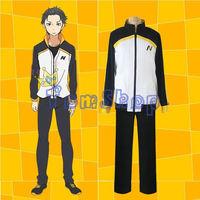 Re Zero Kara Hajimeru Isekai Seikatsu Subaru Natsuki Cosplay Costume Jacket Coat Long Pants Suit Sportswear