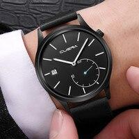 Мужские часы Модные Стальные кварцевые наручные часы классические повседневные простые деловые часы reloj hombre мужские деловые часы relogio masculino