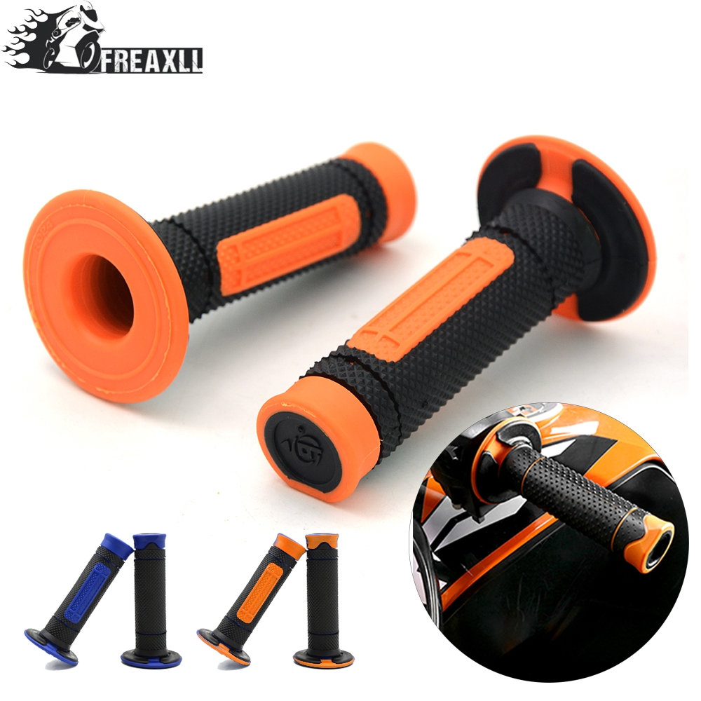 22mm 7 8 quot Motocross Motorcycle Grip Dirt Pit bike Handlebar Grips Hand For EnduRo 125 200 390 690 990 DUKE 690 Smc in Grips from Automobiles amp Motorcycles