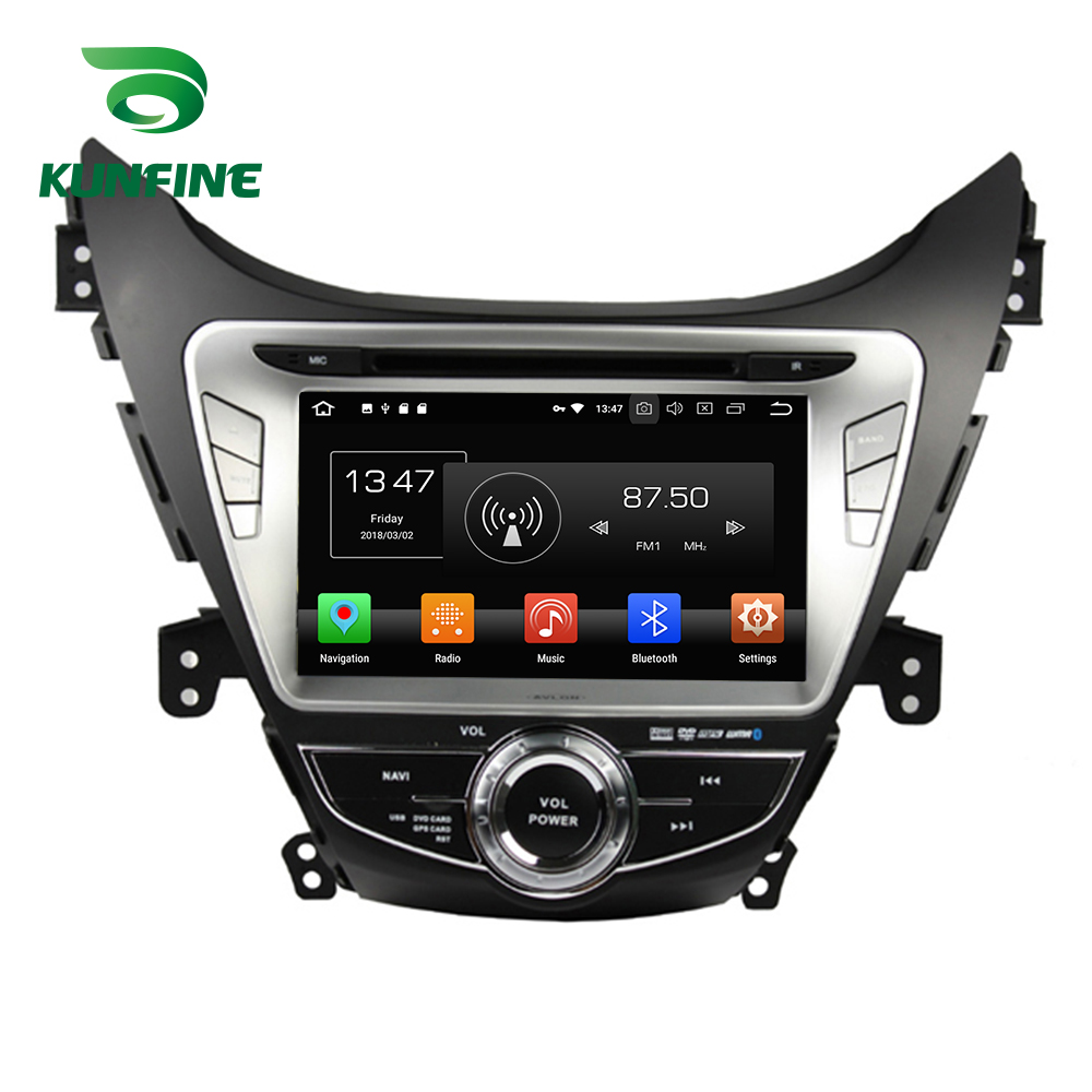 Octa Core 4GB RAM Android 8.0 Car DVD GPS Navigation Multimedia Player Car Stereo for HYUNDAI Elantra 2011-2013 Radio Headunit octa core 4gb ram android 8 0 car dvd gps navigation multimedia player car stereo for bmw mini cooper after 2006 2013 radio