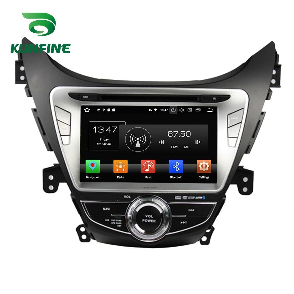 Octa Core 4 gb RAM Android 8.0 Voiture DVD GPS de Navigation Multimédia Lecteur De Voiture Stéréo pour HYUNDAI Elantra 2011- 2013 Radio Headunit