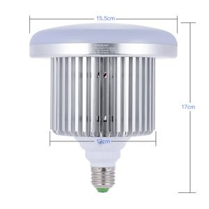 Image 4 - Andoer フォトスタジオ写真 135 ワット LED ランプ電球 132 ビーズ 5500 k E27 写真照明