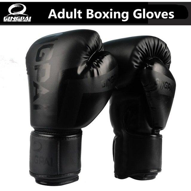 54522e469 10OZ Male Female PU leather Boxing Gloves Sanda Kungfu karate Women Men  Fighting Sandbag Training luvas guantes de boxeo on Aliexpress.com