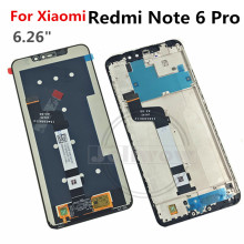 цены на 10 point touch For Xiaomi Redmi Note 6 PRO LCD Display Screen Touch Digitizer Assembly Replacement FOR Redmi Note6 Pro LCD  в интернет-магазинах