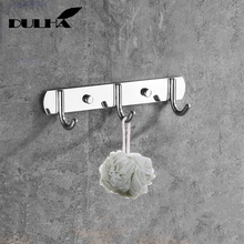 Stainless Steel Wall Robe Hook 3 Hooks for Hanging Clothes towel Coat Hat Holder Rack Home Kitchen Bathroom Hanger Free Shipping