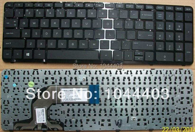for HP pavilion 15-n010us 15-n012nr 15-n014nr 15-n019w keyboard US
