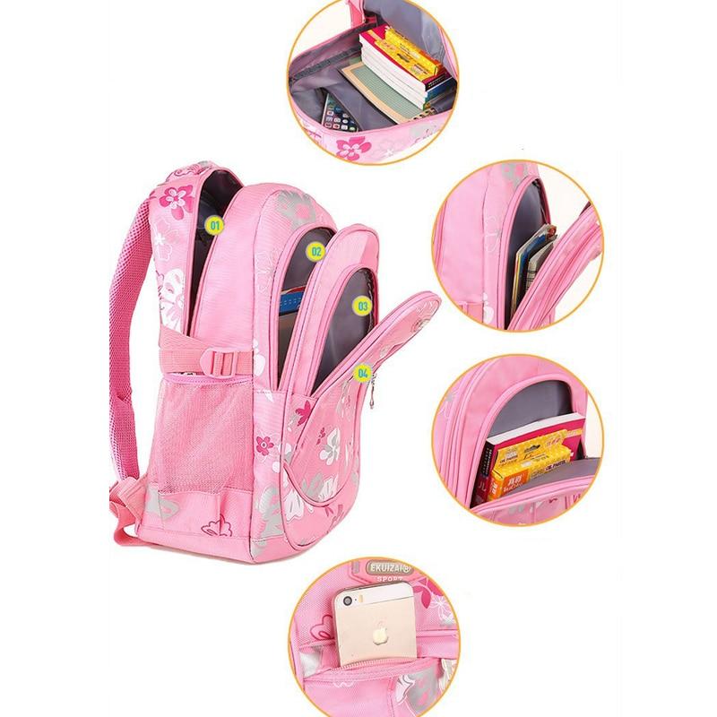 Zipper Large Capacity School Bags for Girls Brand Women Backpack Cheap Shoulder Bag Wholesale Kids Backpacks Fashion