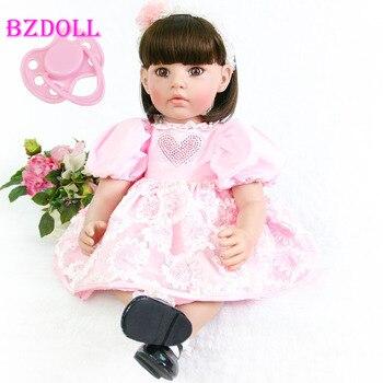 60cm Silicone Reborn Baby Doll Toys Lifelike