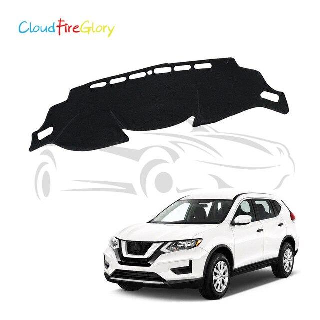 CloudFireGlory For Nissan Rogue X-trail T32 2014-2017 Dashboard Cover Dashmat Dash Mat Pad Sun Shade Dash Board Cover Carpet LHD