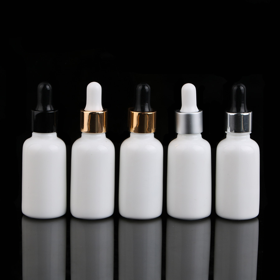 11 Pcs 1 oz 30ml Round Frosted white Glass Bottle For Essential Oils romatherapy serum toner perfum With Pipette Eye Dropper 17 6 oz 500g agaricus blazei 30 1 extract 30