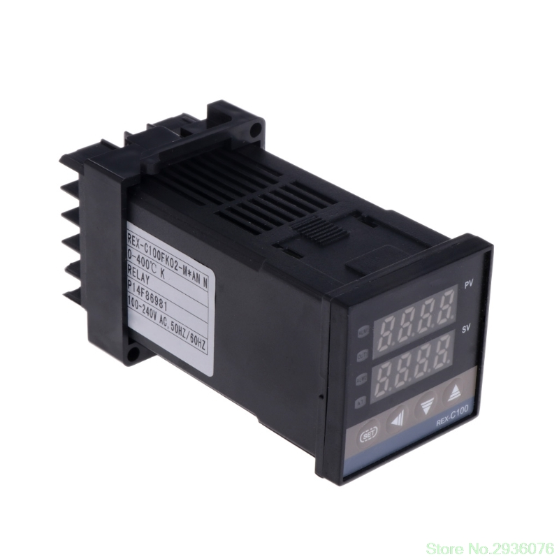 цена на PID Digital Temperature Controller REX-C100(M) 0 To 400 Degree K Type Relay Output