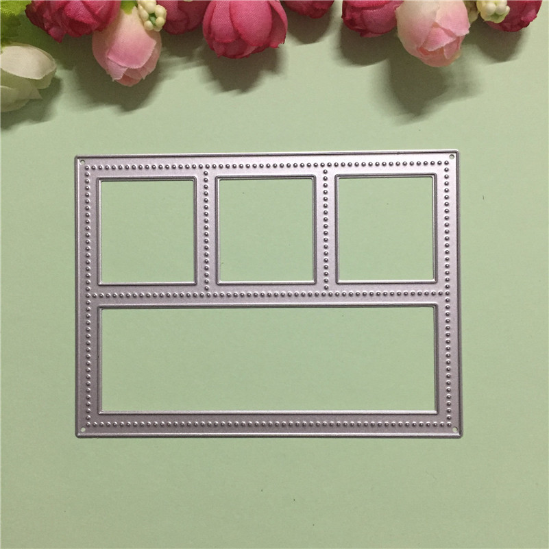 Window Frame Metal Decorative Cutting Die Stencil Paper Dies Template DIY Scrapbook Embossing Cards In From Home
