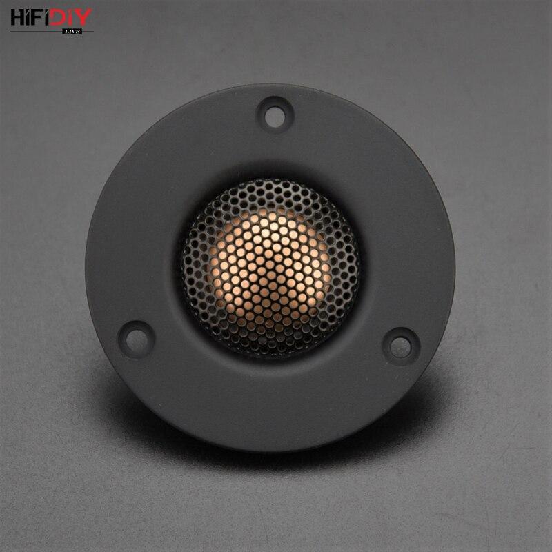 HIFIDIY LIVE 3 Inch Tweeter Speaker Unit Neodymium Magnet Beryllium Copper Silk Edge Membrane 6OHM30W Treble Loudspeaker C1-74A