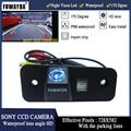 FUWAYDA SONY CCD чип заднего вида обратный резервный безопасности парковка безопасности камера для hyundai SANTA FE/Azera/Santafe HD - фото
