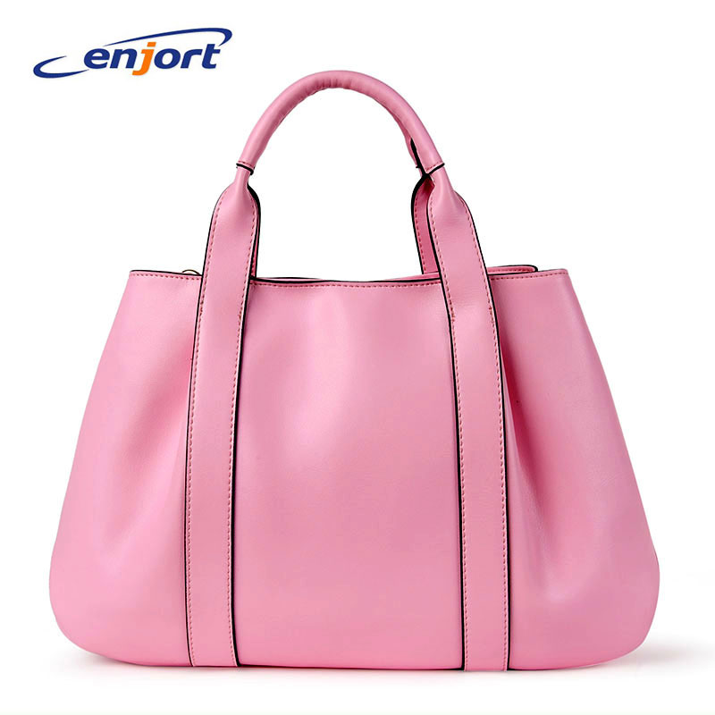 ENjort Genuine Leather Handbag Women shoulder bags Handbags Messenger woman Bag Clutch Female Cowhide Tote New Designer Bolsos new arrival women messenger bags genuine leather female shoulder bags girls satchels envelop handbags lady clutch evening bag