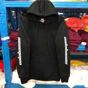 Image 2 - Haute qualité Feece saison 4 Calabasas KANYE WEST sweat à capuche pull à capuche surdimensionné hommes femmes marque vêtements sweat à manches longues