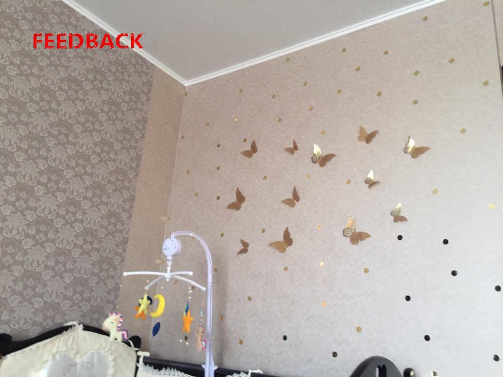 جديد 12 قطعة 3D الجوف ملصقات جدار فراشة الثلاجة للمنزل الديكور Mariposas Decorativas جدار ديكور Mariposas Decorativas